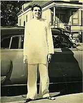 Gurudeva in 1949, right after his return from Sri Lanka