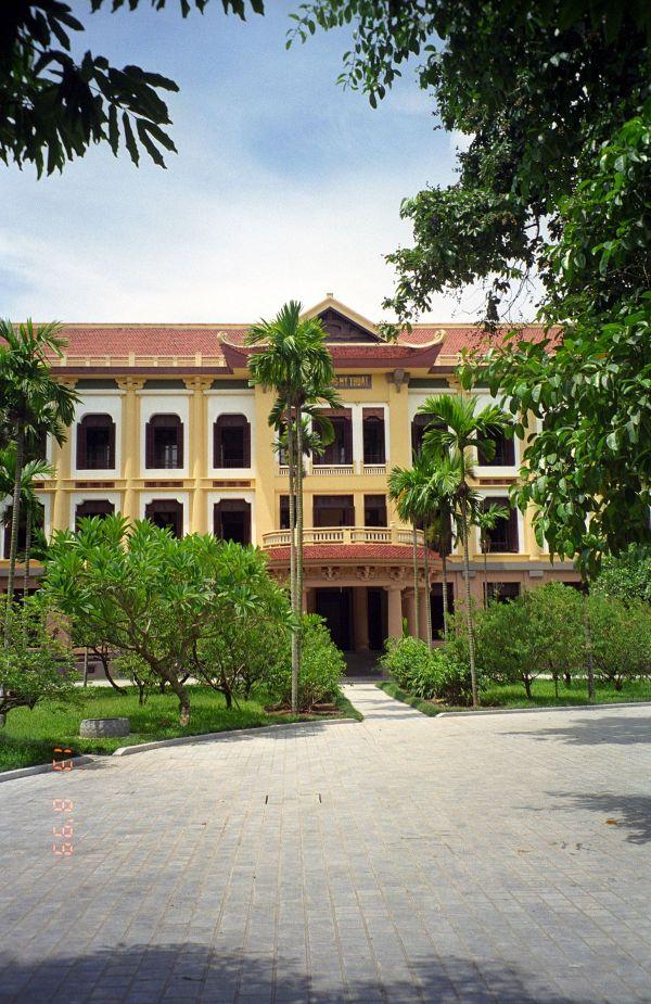 Museum Fine Arts Hanoi Vietnam