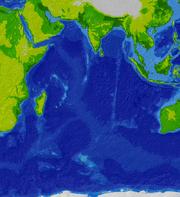 Indian Ocean bathymetry srtm.png