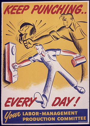 Keep punching... everyday^ Your labor-manageme...