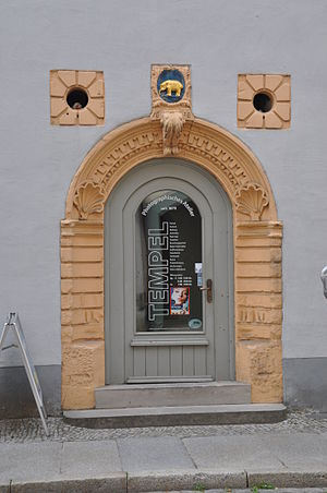 Deutsch: Tür in Naumburg (Saale)