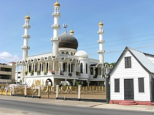 English: Mosque in Paramaribo.