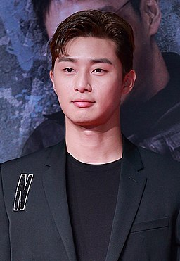 Park Seo-joon at Midnight Runners VIP premiere in August 2017