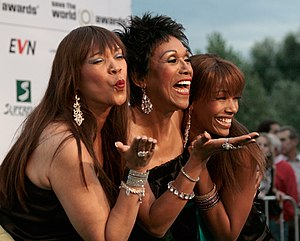 "The Pointer Sisters at the ""green carpet&..."
