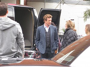 Simon Baker, aka The Mentalist