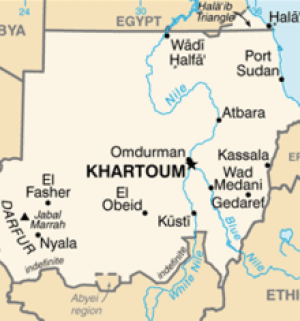 Sudan combines the lands of several ancient ki...