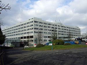 The John Radcliffe Hospital, Oxford, England