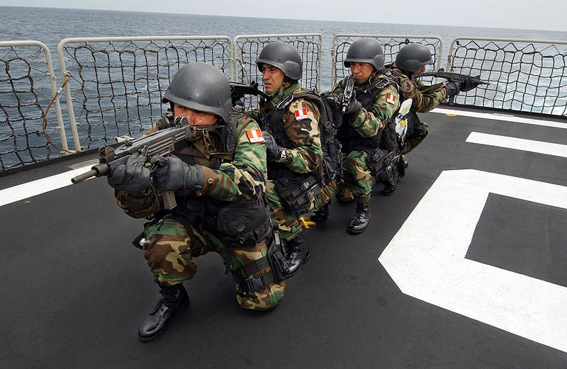 File:A group of Peruvian Navy special.jpg