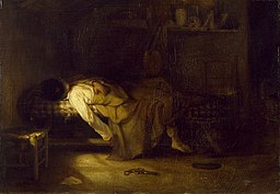 Alexandre-Gabriel Decamps - The Suicide - Walters 3742