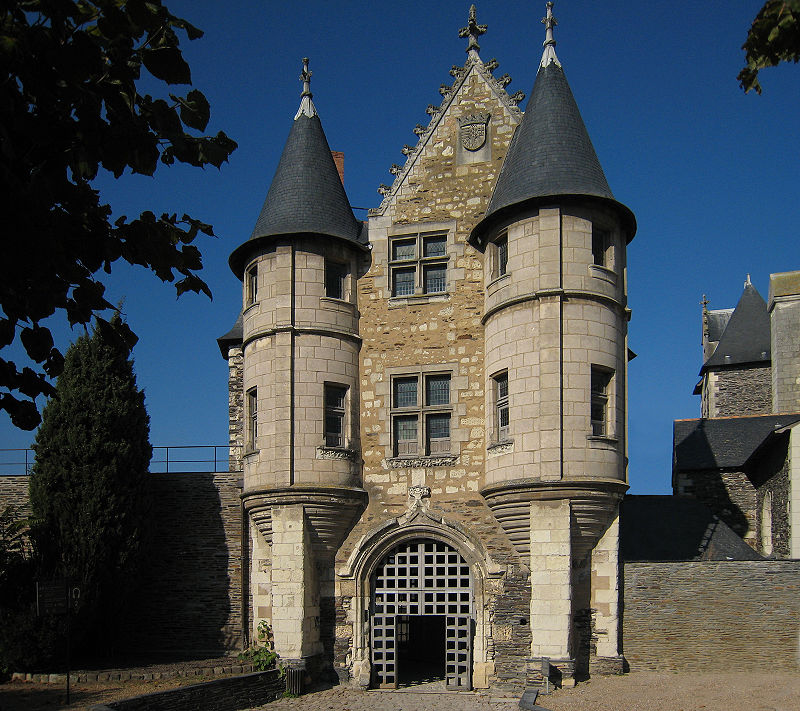 Angers Castle Chatelet 2007