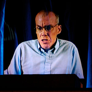 Bill McKibben, an American environmentalist an...