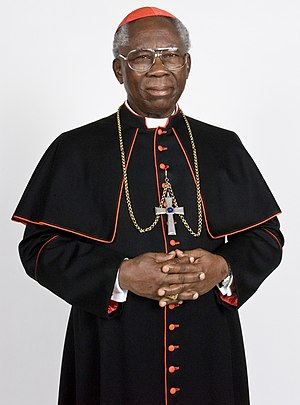 English: Picture of His Eminence, Francis Arin...
