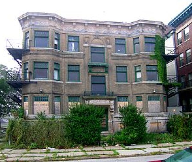 The Davenport Apartments Before Renovation And Restoration