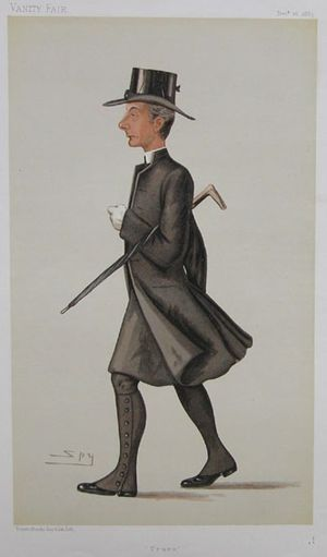 Caricature of The Right Rev. George Howard Wil...