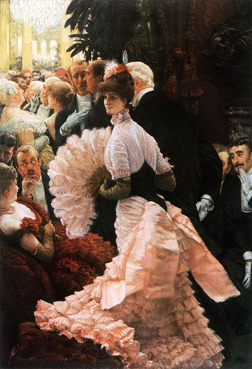 James Tissot - A Woman of Ambition