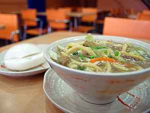 Pancit lomi from Chowking.
