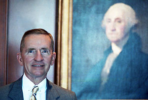 English: colour portrait of Ross Perot
