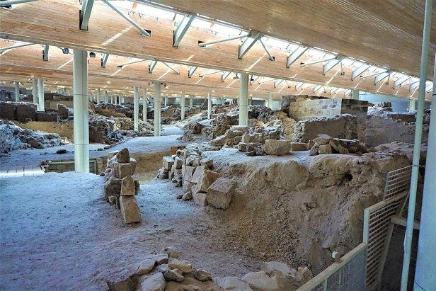 Telchines Road, Akrotiri, Thera in Santorini by Joy of Museums