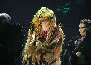 "English: Lady Gaga performing ""Monster&qu..."