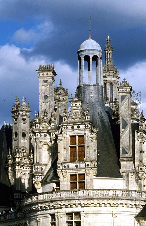 Château de Chambord - un comble à lanterne
