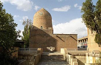 Mausoleum of Ester and Mordecai in Hamedan, Iran
