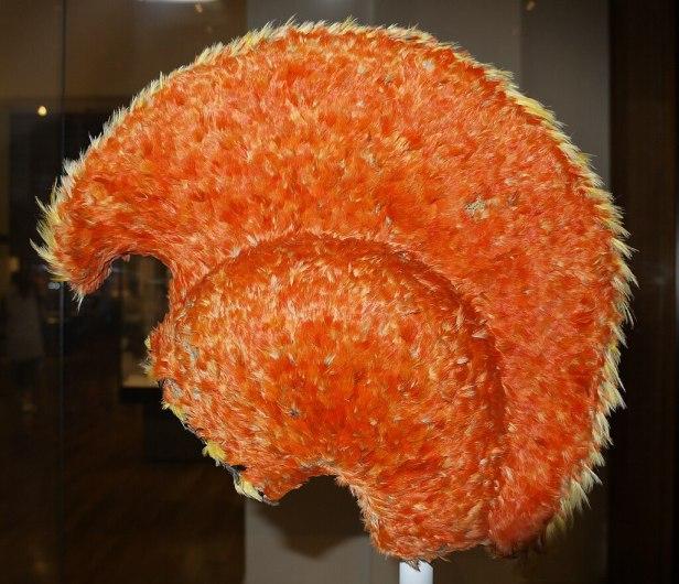 Hawaiian Feathered Helmet