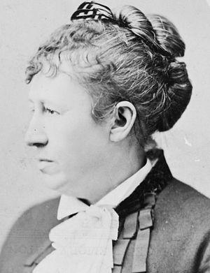 English: Mrs. Ulysses S. Grant (Julia Dent Gra...