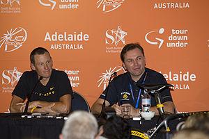 Lance Armstrong, Johan Bruyneel, 2009