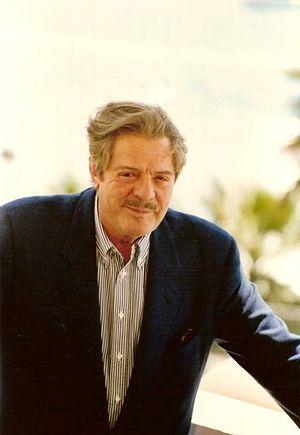 Français : Marcello Mastroianni au festival de...
