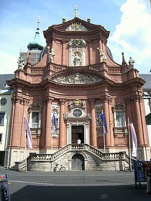 Neumünster, Würzburg, Germany.