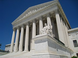 Supreme Court building, Washington, DC, USA. F...