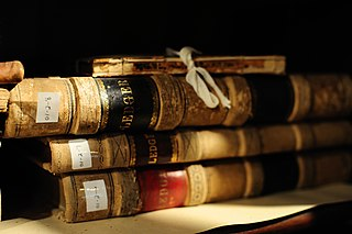 Old books from the Basking Ridge Historical Society