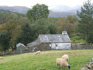 English: Oxen Fell cottage