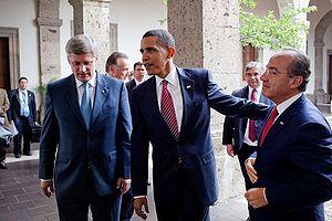 President Barack Obama with Canada's Prime Min...