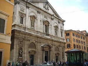 San Luigi dei Francesi, facciata