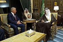 Crown Prince Salman meeting U.S. Secretary of Defense Chuck Hagel, 23 April 2013