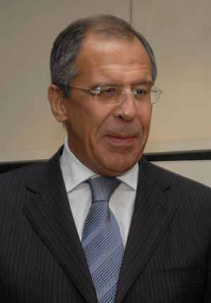 English: Sergey Lavrov (Russia) Português: O c...