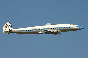 Lockheed Super Constellation at Air 04, Payern...