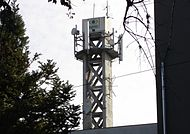 Torre da Band RS, antiga TV Difusora, comprada em 1980 pelo Grupo Bandeirantes.