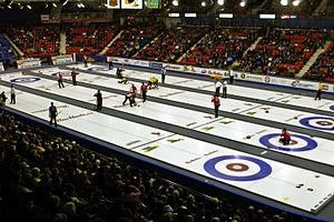 English: The 2006 Brier, in Regina