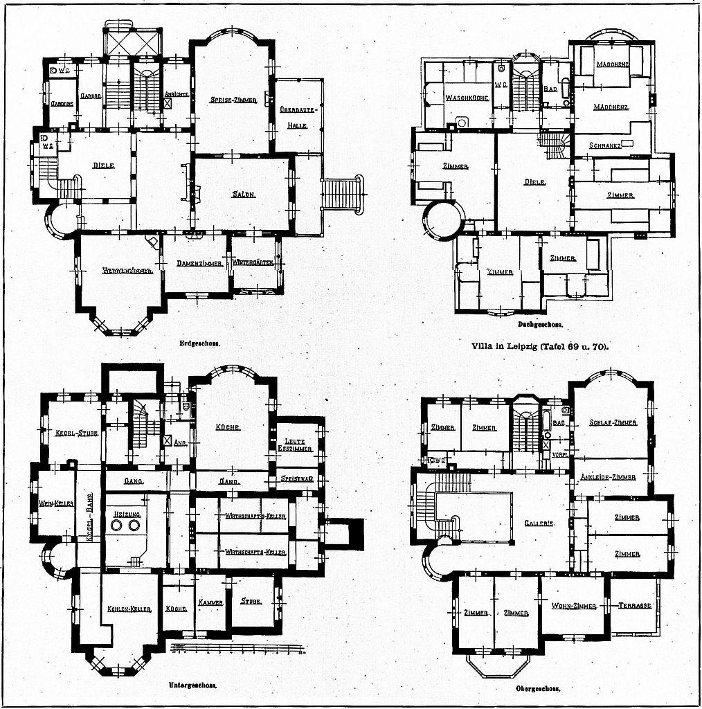 File:Villa in Leipzig, Robert-Schumann-Str. 9, Architekt