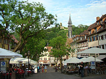 Weinheim, Marktplatz