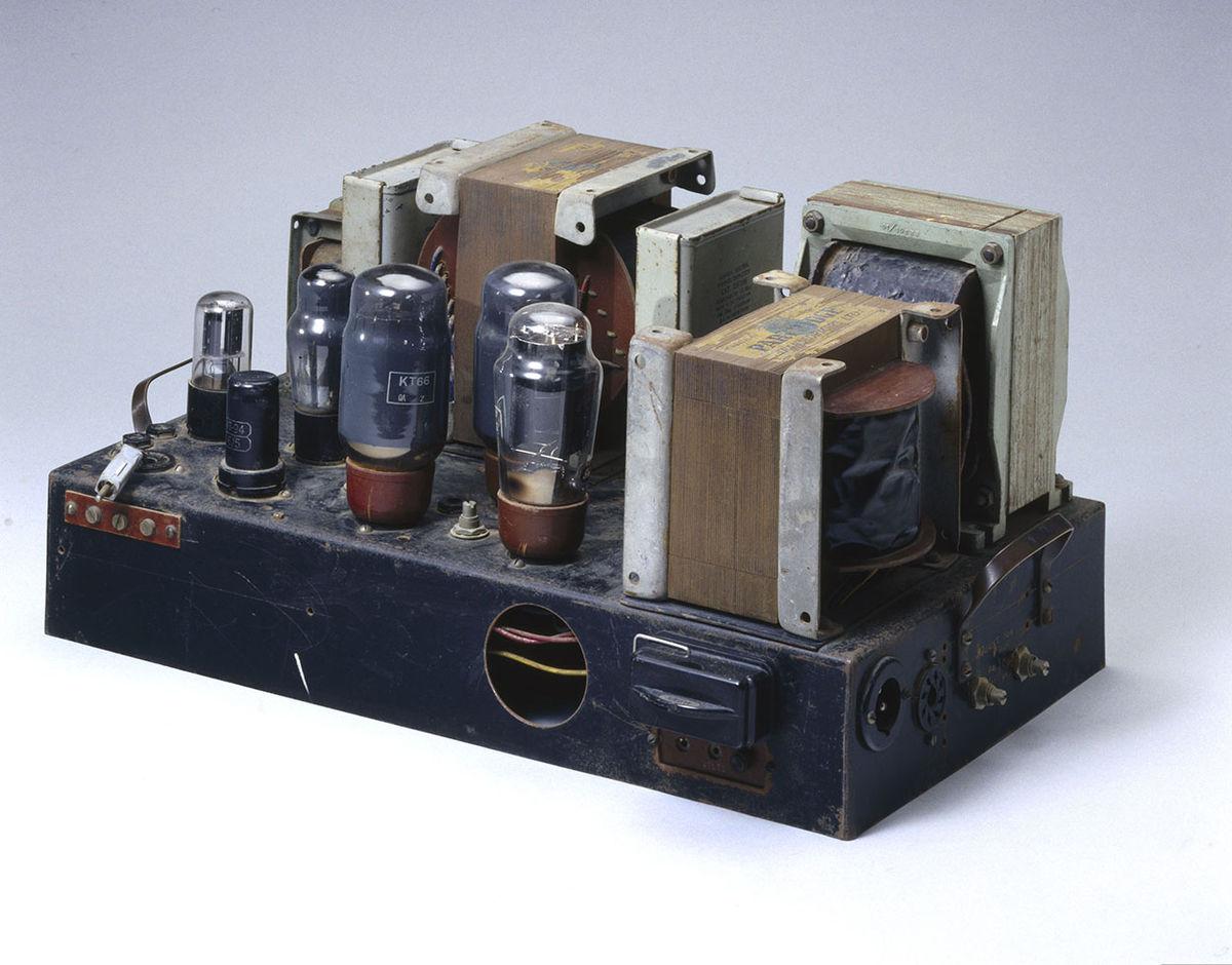 Audio Transistor Amplifier Electronic Design