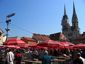 Dolac market, Zagreb, Croatia