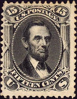 Abraham Lincoln 1866 Issue-15c