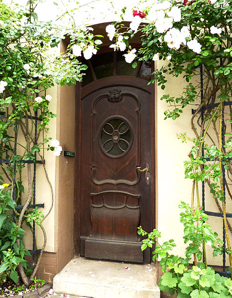 Antique Lunenburg door