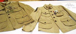 Two Scouting uniforms from 1917-1918