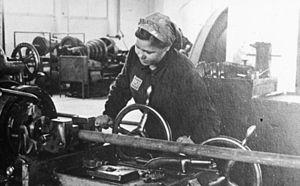 OST-Arbeiter at the IG Farben plant Auschwitz
