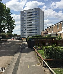 A Block Of Flats In Birmingham England