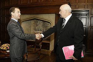 BARVIKHA, MOSCOW REGION. With Igor Smirnov, he...